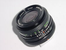 Canon FD Fit Vivitar 28mm F/2.8 MC Wide Angle Manual Focus Lens ** Ex++