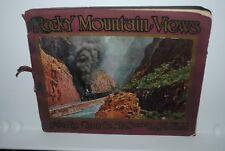 Rocky Mountain Views, Rio Grande, antique photo book, Wm. H. Crane #S6990
