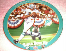 Bob Griese 1995 Bradford Exchange Limited Edtion Plate Super Bowl Vii Perfection