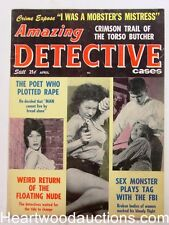 """""""Amazing Detective"""" April 1963 Bad Girl cover - High Grade"""