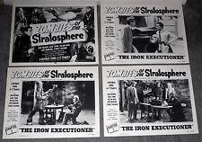 ZOMBIES STRATOSPHERE 11x14's COMMANDO CODY/LEONARD NIMOY lobby card set original