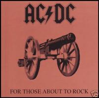 AC/DC - FOR THOSE ABOUT TO ROCK WE SALUTE YOU D/Rem CD ~ ACDC ANGUS YOUNG *NEW*