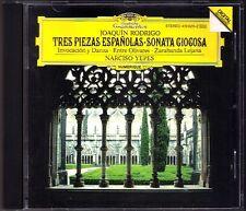 Narciso YEPES RODRIGO Tres Piezas Espanolas Sonata Giogosa Invocacion e Danza CD