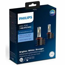 Philips Xtreme ultinon Bombillas LED Faros Foglight coche H8/H11/H16 Twin
