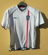 Vintage Umbro England Soccer National Team White Jersey Size Xl