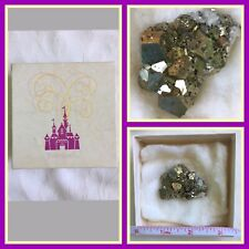 "Vintage ""Disneyland""~Pyrite or Fools Gold with Squares Cubes in Original Box"