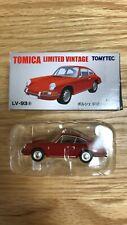 Tomica Limited Vintage LV-93a Porsche 912 Red 1965 MODEL 1/64 From Japan