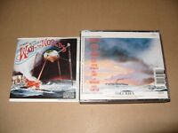 Jeff Wayne  War Of The Worlds The (1995) 2 cd Fat box set Ex condition