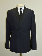 Men's Wool No Pattern Double Breasted Suits & Tailoring