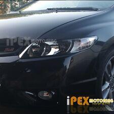 NEW For 2006-2011 Honda Civic 2Dr Coupe JDM Black Headlights Headlamps Free Ship
