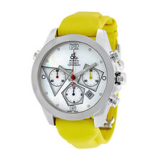 Jacob and Co. Automatic Chronograph Mother of Pearl Mens Watch ACM-6