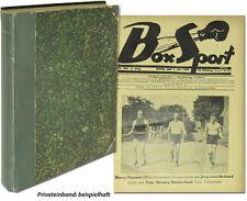 Boxsport Boxen 1926 1/2 Jahrgang 24 Zeitungen Komplett Max Schmeling Olympia