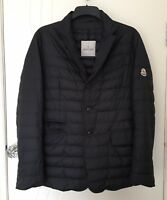 Moncler Genuine Goose Down Feather Padded Blazer Coat Jacket Size 2