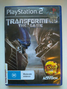 Transformers: The Game (Sony PS2)