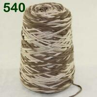 Sale New 1Cone 400g Soft Worsted Cotton Chunky Super Bulky Hand Knitting Yarn 40