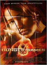 HUNGER GAMES Affiche Cinéma Originale / French Movie Poster Jennifer Lawrence