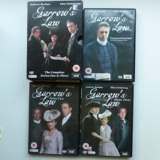 DVD Coffret  Garrow's Law COMPLETE one two and Three Series
