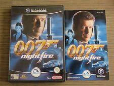 JEU NINTENDO GAMECUBE   JAMES BOND 007 NIGHTFIRE   COMPLET  GAME CUBE