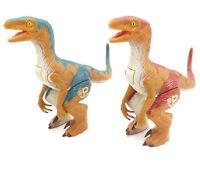 Jurassic Park Lost World 1997 Parker Brothers Dinosaur Figures Battling Raptors