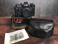 Vintage LAVEC LT-002 35mm Camera + Case + Manual with Original Box (Untested)