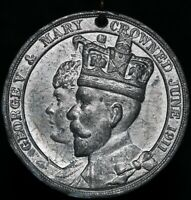 1911 | Burgh Of Barrhead George V Queen Mary Coronation Medal | KM Coins