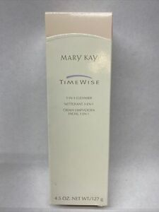 Mary Kay TimeWise 3-In-1 Cleanser Combination To Oil Skin, FREE Shipping