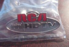2 Vintage Unopened Sealed RCA Digital HDTV Television Collectable Pin Back Lapel