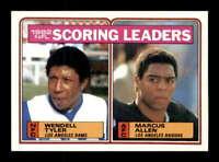 1983 Topps #205 Wendell Tyler / Marcus Allen LL RC NM+ X1678636