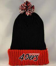 San Francisco 49ers NFL Cuff Knit Pom Hat 47 Brand