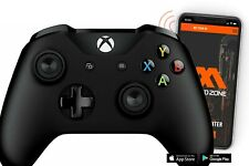 Black Xbox One S SMART Modded Controller with PROGRAMMABLE PADDLES.FPS Mods COD