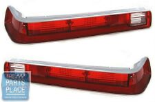 1970 & 1972 Pontiac GTO Tail Light / Lamp Lenses - Pair