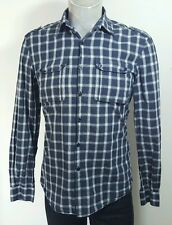 Full Circle mens casual plaid shirt medium