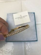 Touchstone Crystal Swarovski Bracelet - Rose Gold Finish - Display Model