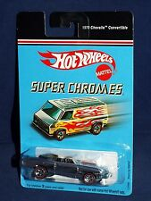 Hot Wheels Target Retro Series Super Chromes 1970 Chevelle Convertible RL5SPs