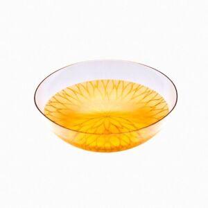 "AGJ Glass urushi Bowl ""Chrysanthemum"" Gold Dinnerware Urushi Japanese"