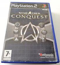 STAR TREK CONQUEST PLAYSTATION 2 GIOCO PS2 BUONO SPED GRATIS SU + ACQUISTI!!
