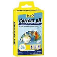 Tetra CORRECT PH 8-Tablets Maintains Neutral pH in Fish Aquarium FRESHWATER AQUA
