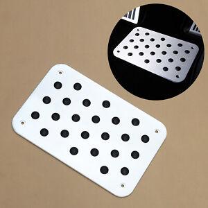 Car Anti Slip Rest Foot Pedal Universal Carpet Pad Plate Floor Mat Accessories