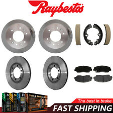 Centric Front Brake Rotors /& Metallic Brake Pads 3PCS For Mazda B2000