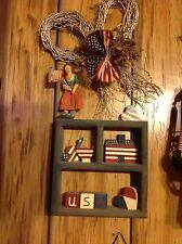 AMERICANA Patriotic  Home Wall Decor