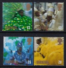 GB 1998 EUROPA: FESTIVALS NOTTING HILL CARNIVAL SET OF 4 FINE MINT SG2055-SG2058