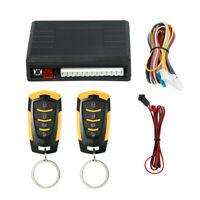Universal Car Remote Central Door Lock Kit Keyless Entry System & 2 Keys