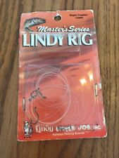Masters Series Lindy RIG NIGHT CRawler Leech LR005 Only Some Parts Ships N 24h
