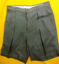 Tommy Bahama mens 100% Silk Shorts Sz 33 Pre-Owned Beautiful Condition B#22