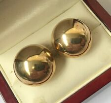 9ct Gold Women's Earrings Lovely detail & design nice size & weight