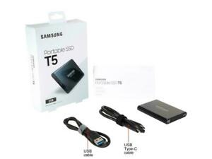 SAMSUNG T5 Portable SSD 2TB - Up to 540 MB/s- USB 3.1 External Solid State Drive