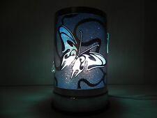 Electric oil incense burner aroma decorative lamp Blue Butterfly design