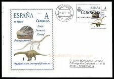 Spain dinosaur 2017 dinosaure dinosaurios Custom Stamp-only 5 cover made! cm47