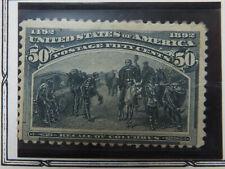 US Stamp Scott #240 Mint Hinged. MH VF