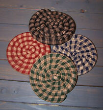 Scented Coaster/Trivet/Mug Mat~Handcrafted~Spiced~Ho mespun
